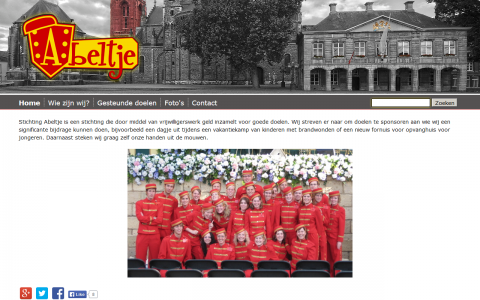 Stichting Abeltje door tsiis websites